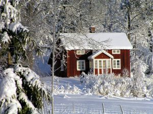 Photo: House in Winter